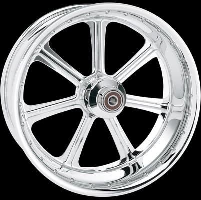 Roland Sands Design Diesel Chrome Rear Wheel with ABS, 18 x 4.25