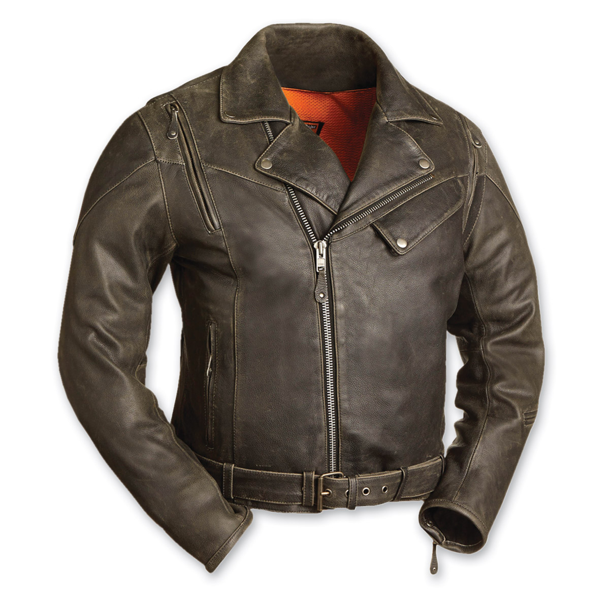 First Manufacturing Co. Men's The 60's New Yorker Distressed Brown ...