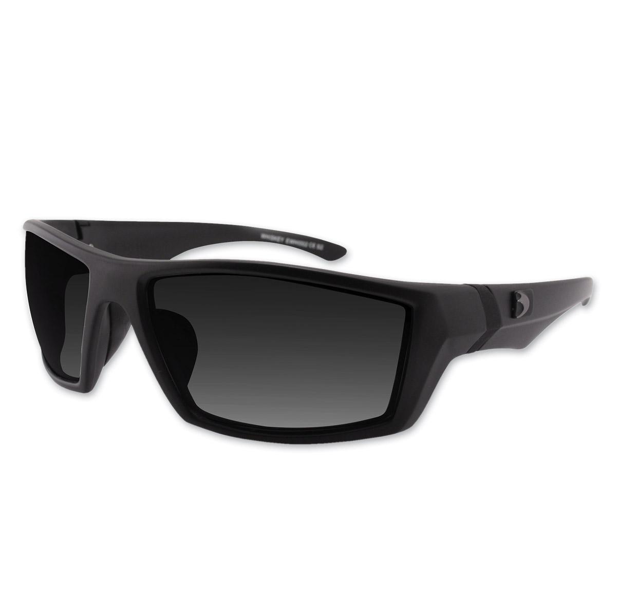 Bobster Whiskey Matte Black Frame Sunglasses w/Smoked Lenses | 207 ...