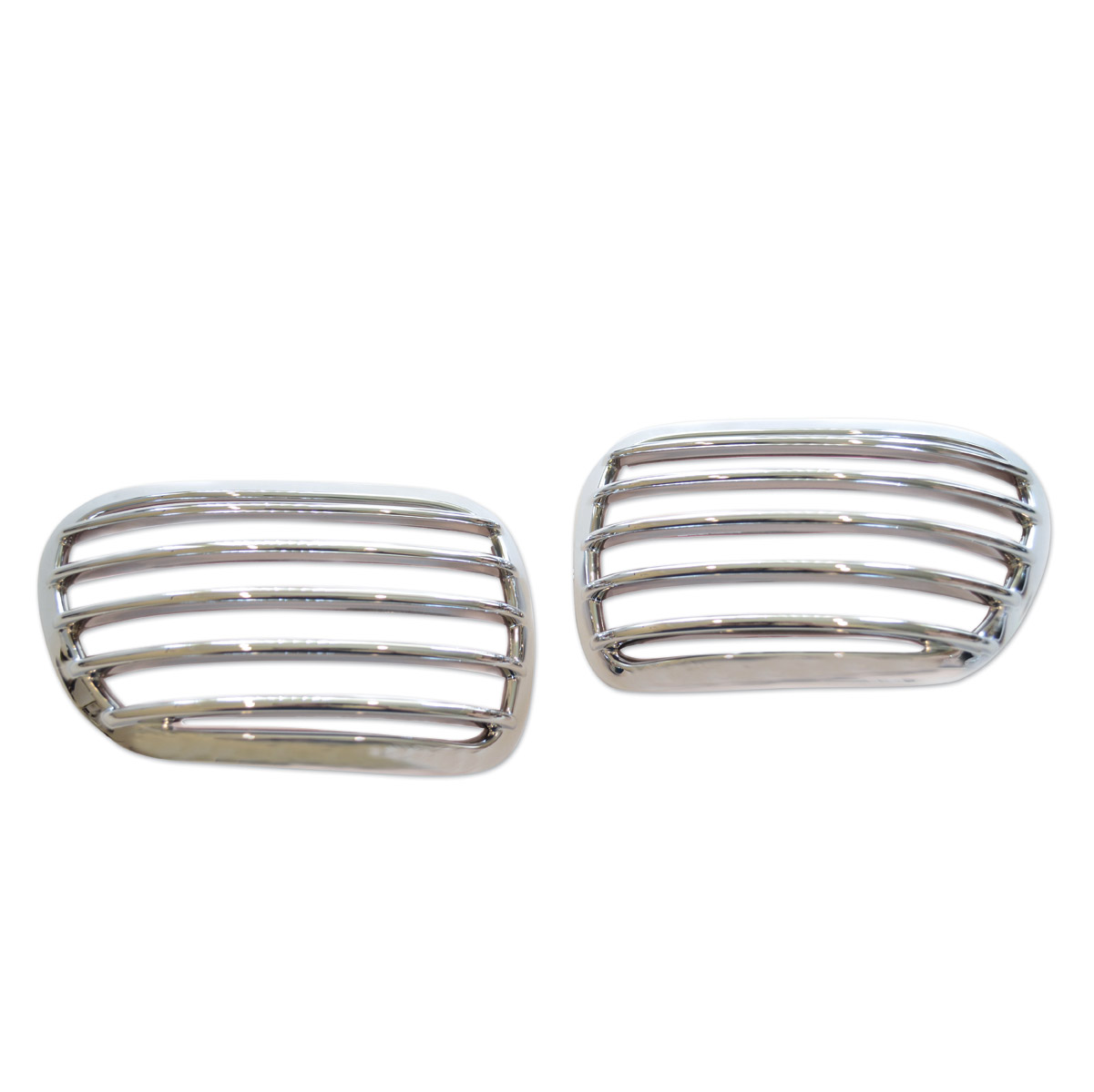 SoCalMotoGear Chrome Indicator Grill Guards