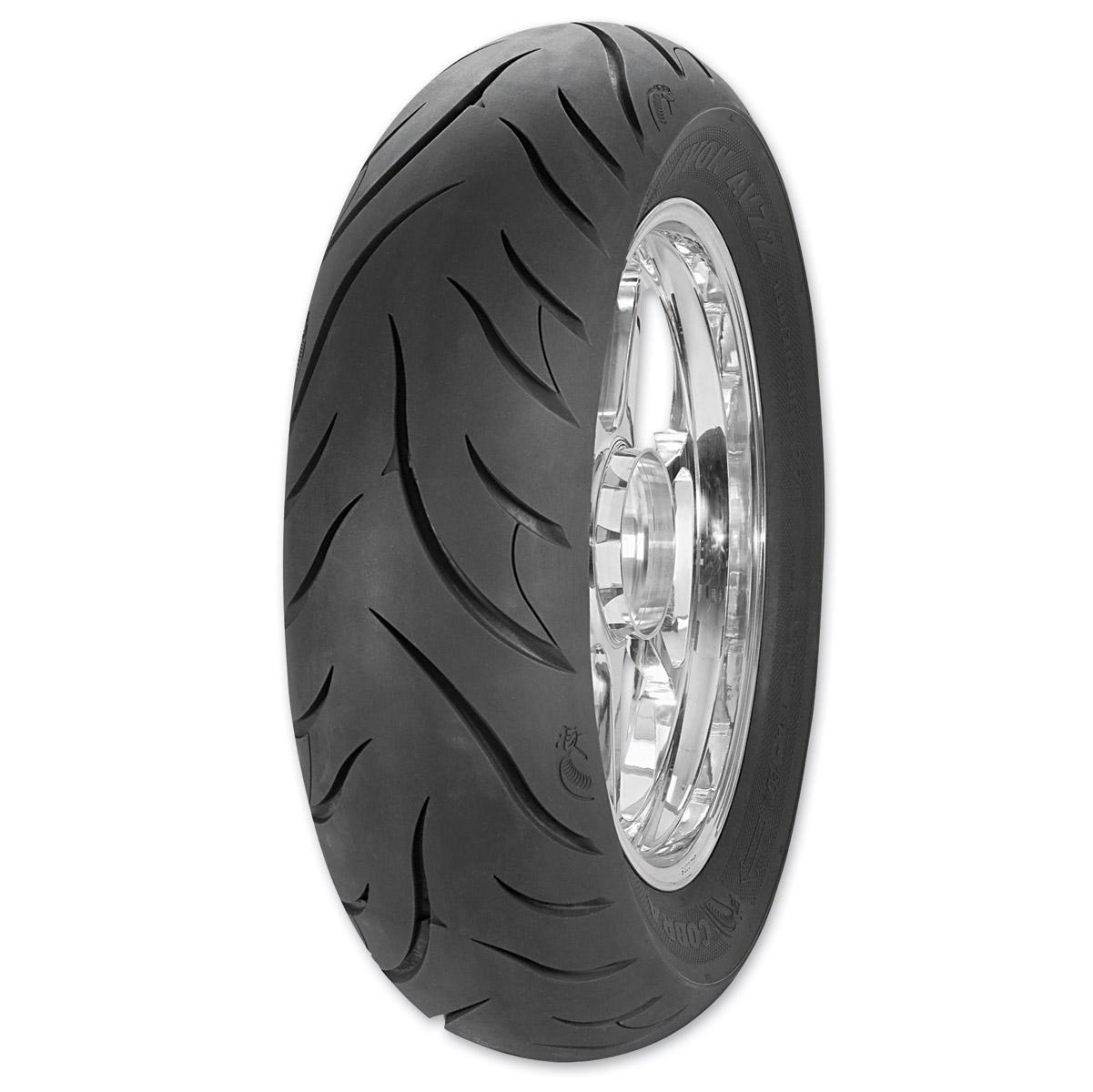 Motorcycle Rear Tire >> Avon Av72 Cobra 180 55zr18 Rear Tire 210 210 J P Cycles
