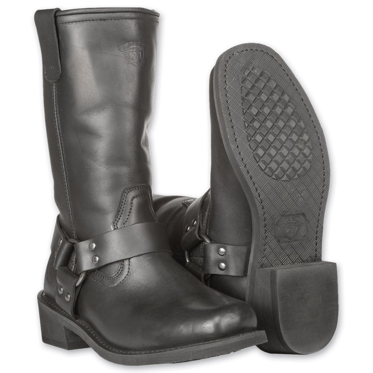 Highway 21 Men's Spark Harness Black Boots