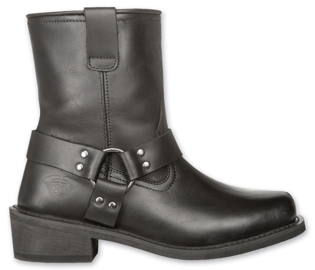 Highway 21 Men's Spark Harness Low Black Boots
