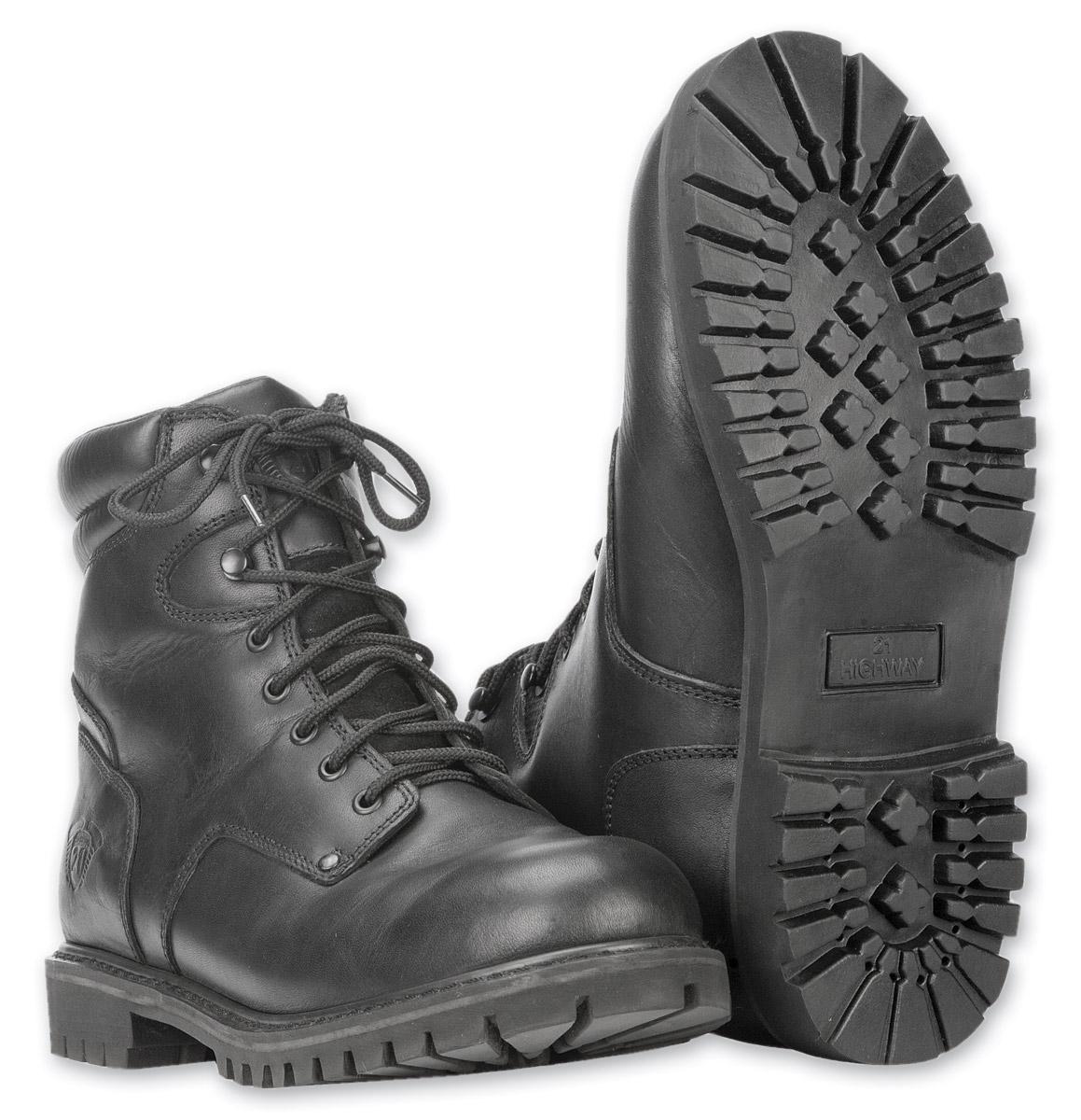Highway 21 Men's RPM Lace-Up Black Boots