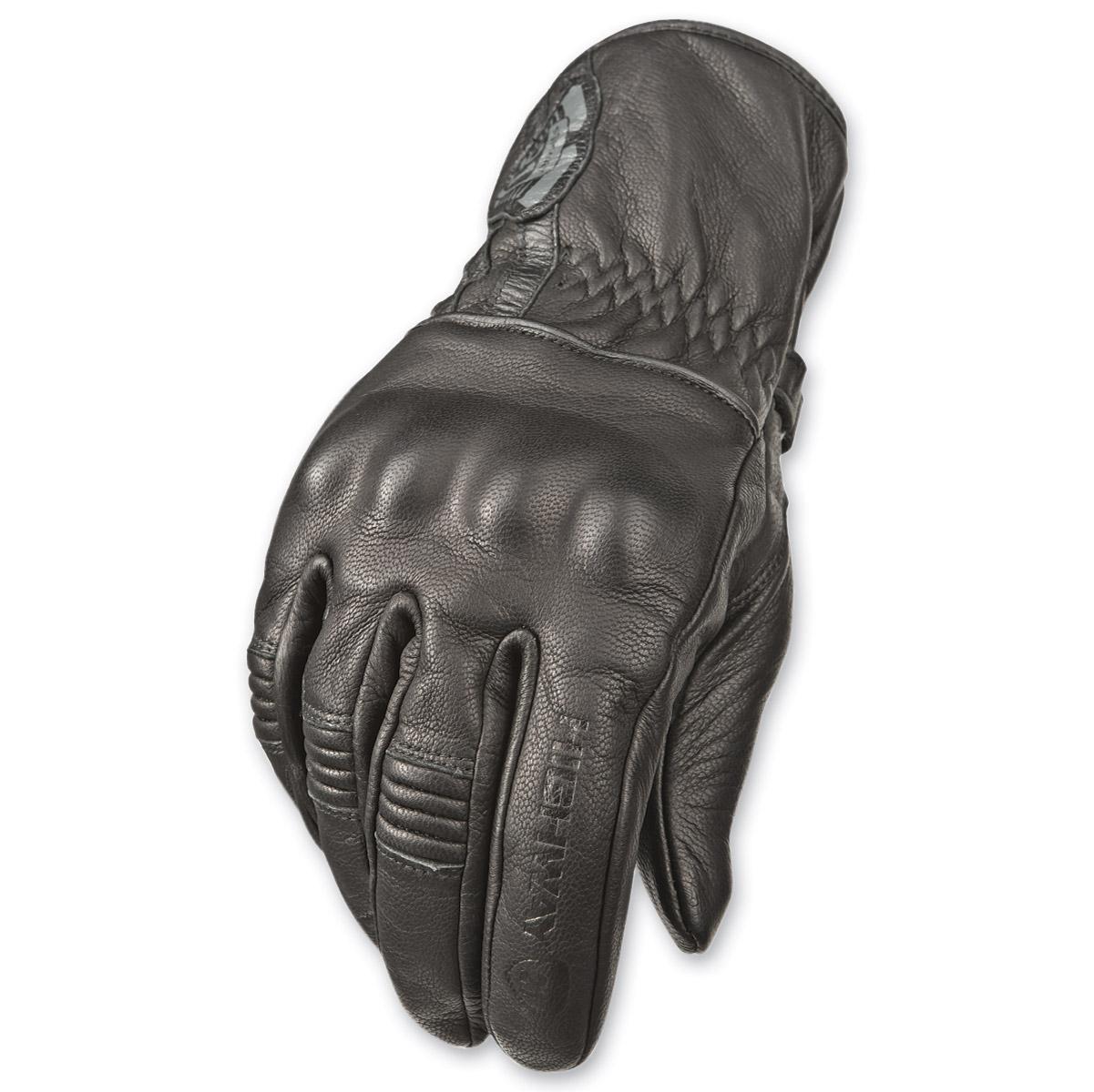 Highway 21 Men's Hook Black Gloves