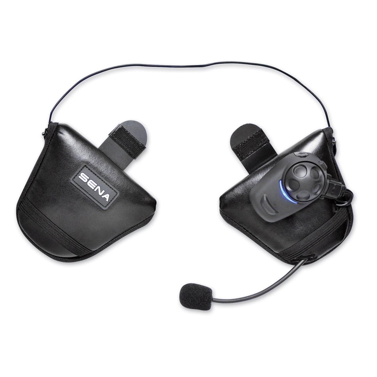 Sena Technologies SPH10-FM Single Pack Bluetooth Headset/Intercom for Half Helmets