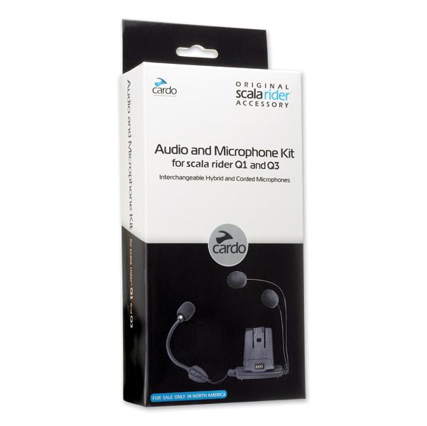 Cardo Q1/Q3 Microphone & Speakers