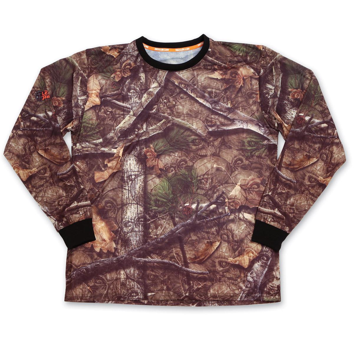 a9d27252c188 Lethal Threat Backwoods Skull Camo Long-Sleeve T-Shirt - SC50500-2X ...