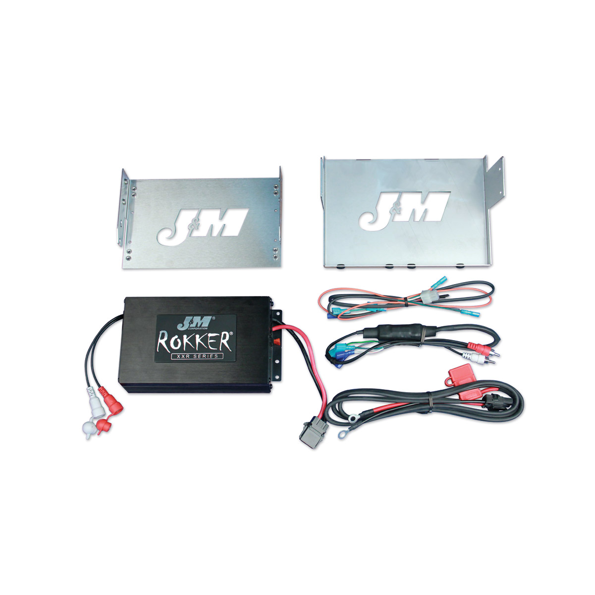 Jm Rokker Xxr 330w 2 Channel Amp Kit