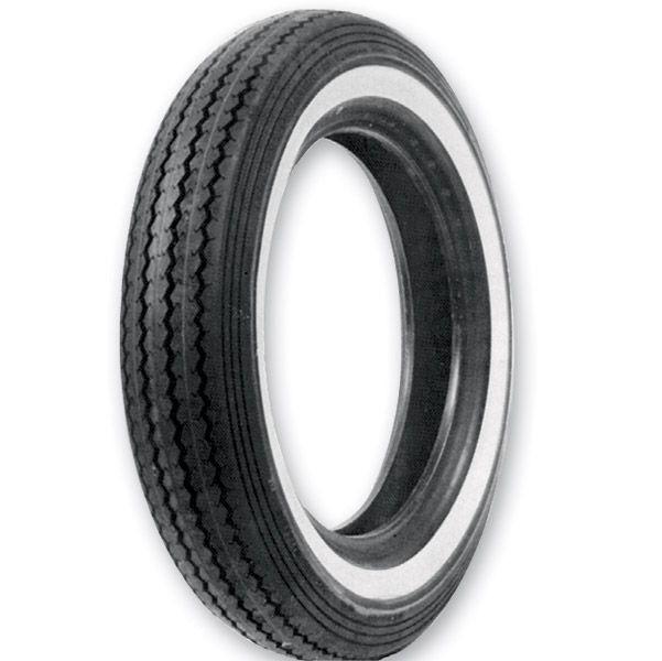 Shinko E240 Classic MT90-16 Wide Whitewall Front/Rear Tire
