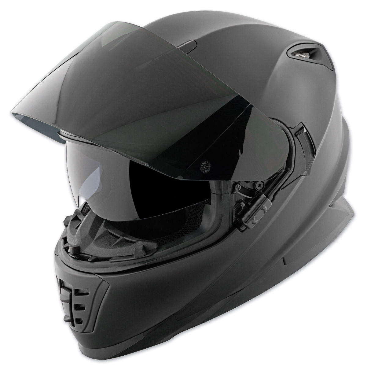 Full Face Cruiser Helmets >> Speed And Strength Ss1600 Solid Matte Black Full Face Helmet 871436