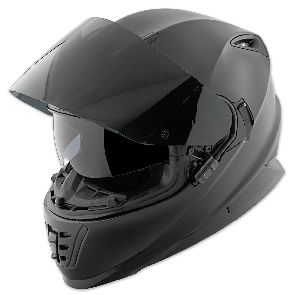 Full Motorcycle Helmet >> Speed And Strength Ss1600 Solid Matte Black Full Face Helmet 212