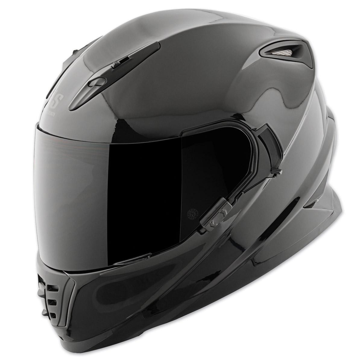 Speed and Strength SS1600 Gloss Black Full Face Helmet