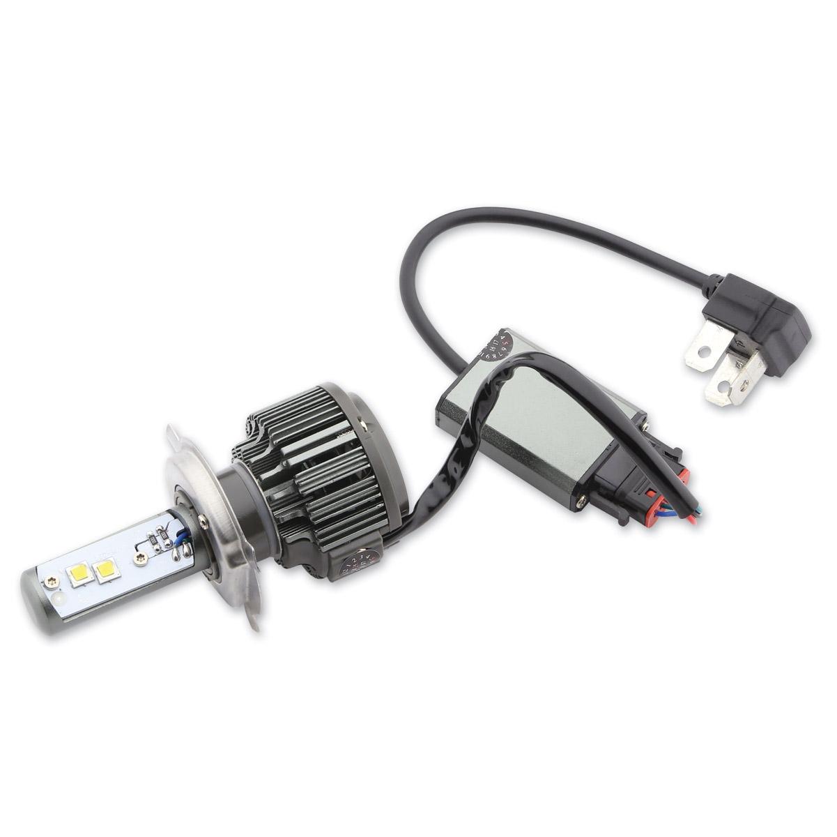 J&P Cycles LED H4 High Intensity Bulb