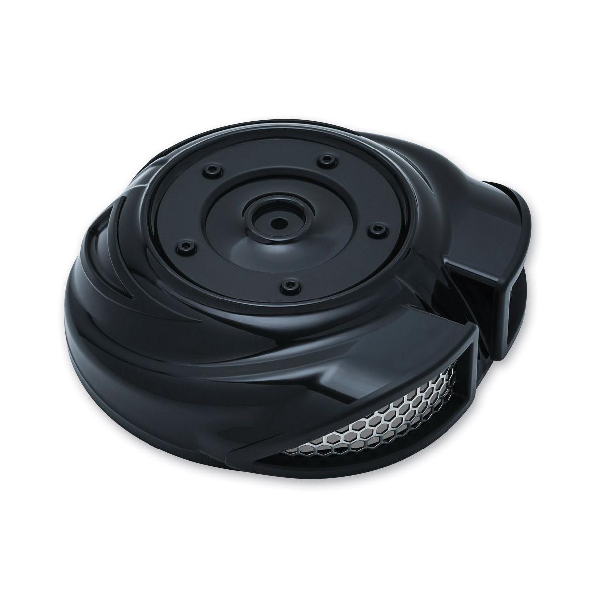 Kuryakyn Gloss Black Quantum Air Cleaner Cover