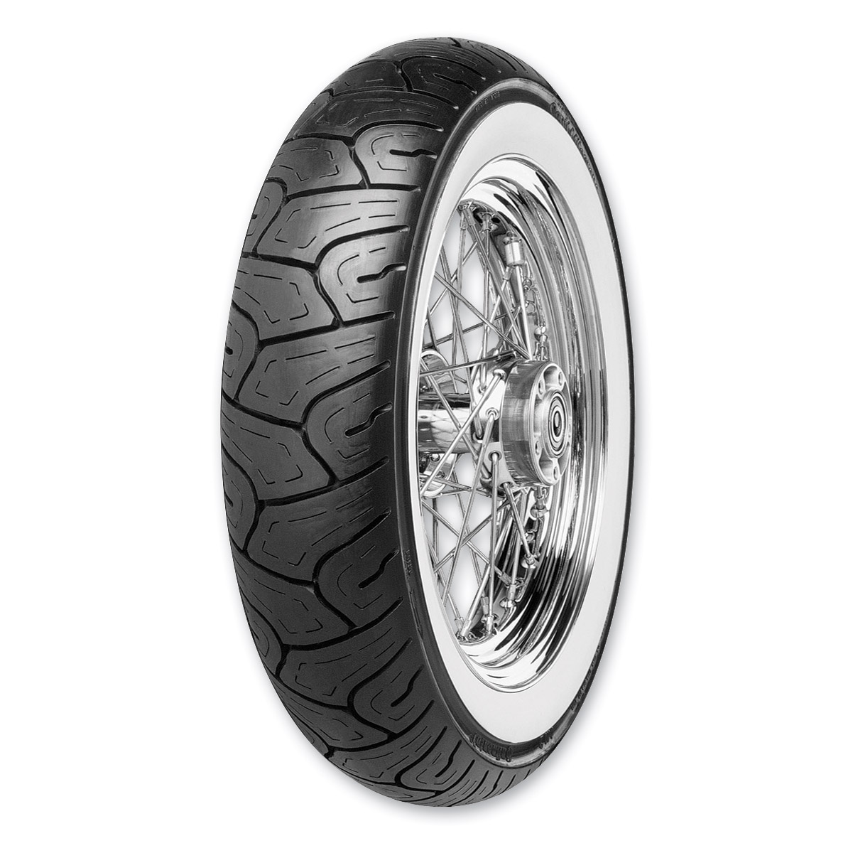 Continental Milestone 130/90-16 Wide Whitewall Front Tire