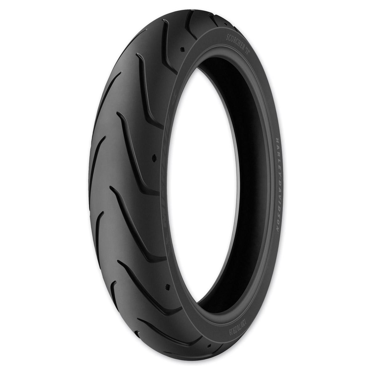 Michelin Scorcher 11 120/70ZR18 Front Tire