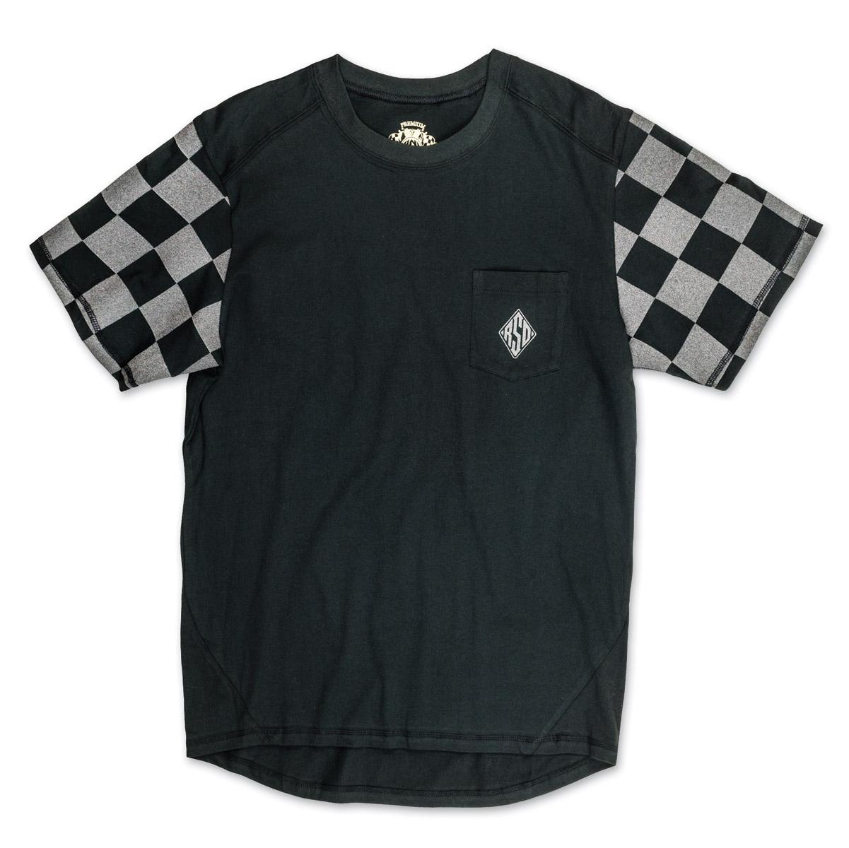 Roland Sands Design Men's Hangtown Reflective Black/Gray T-Shirt