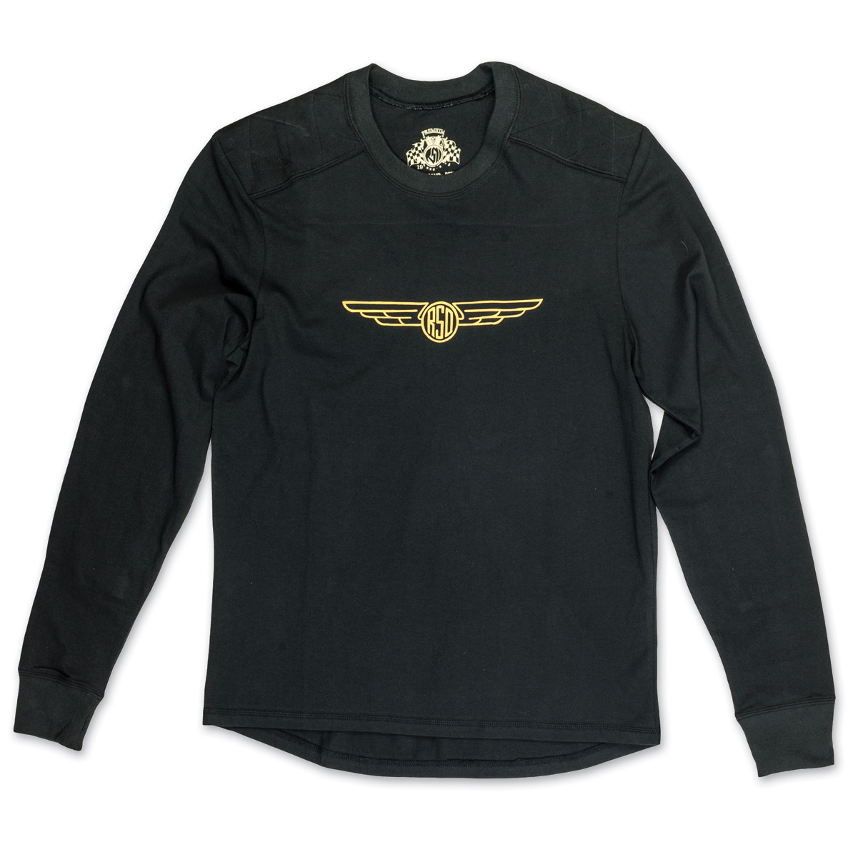 Roland Sands Design Men's Brody Black Long Sleeve T-Shirt