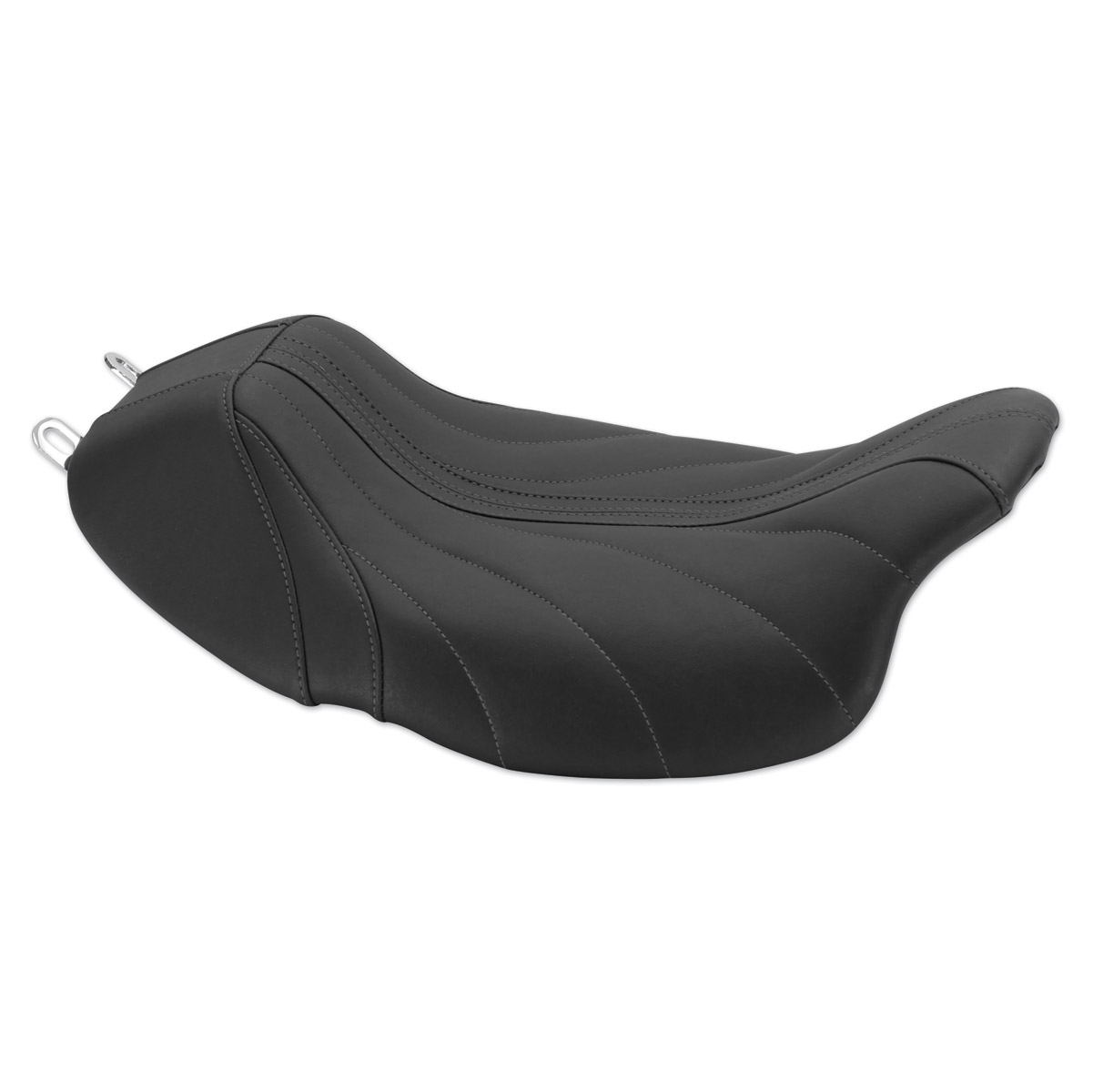 Mustang Revere Journey Gravity Gunmetal Gray Thread Seat