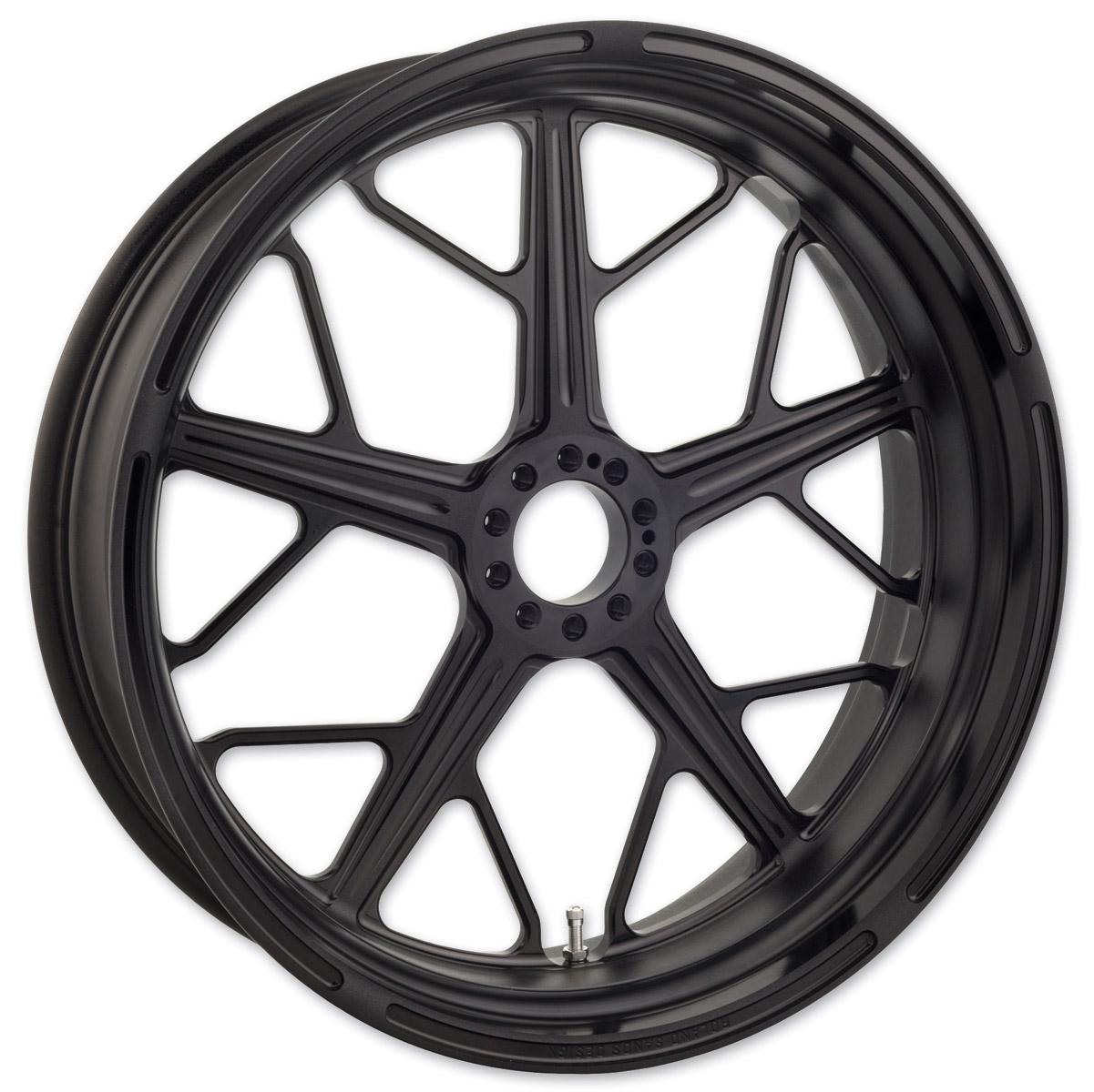 Roland Sands Design Hutch Black Ops  Non-ABS Front Wheel, 21″ x 3.5″