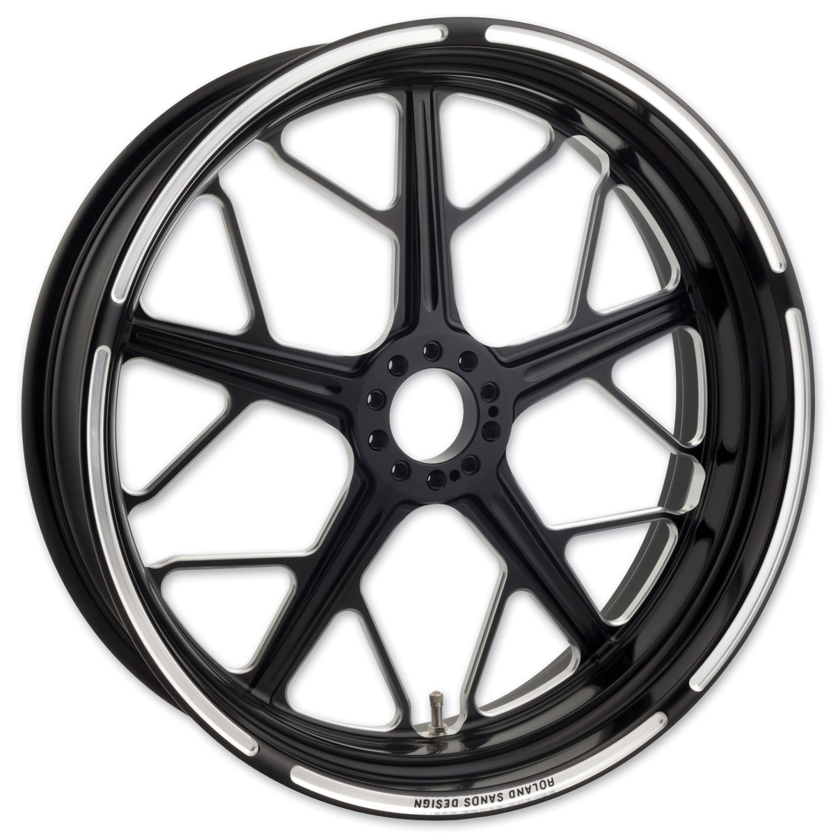 Roland Sands Design Hutch Contrast Cut ABS Front Wheel, 21″ x 3.5″