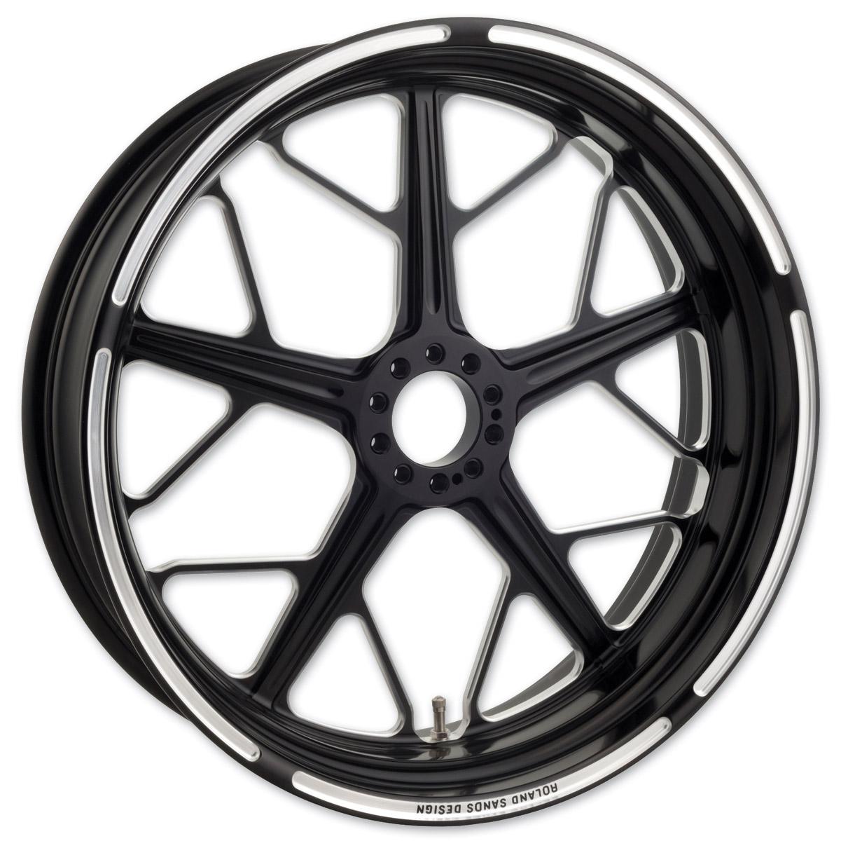 Roland Sands Design Hutch Contrast Cut ABS Rear Wheel, 17″ x 6″