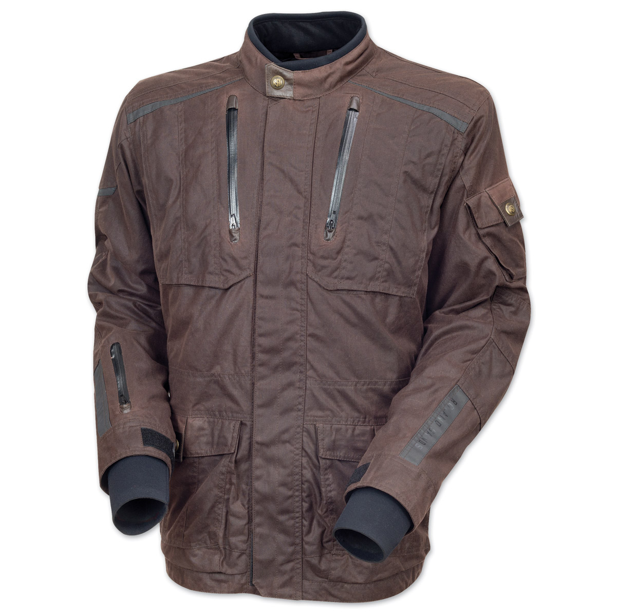 Roland Sands Design Men's Houston Textile Brown Jacket
