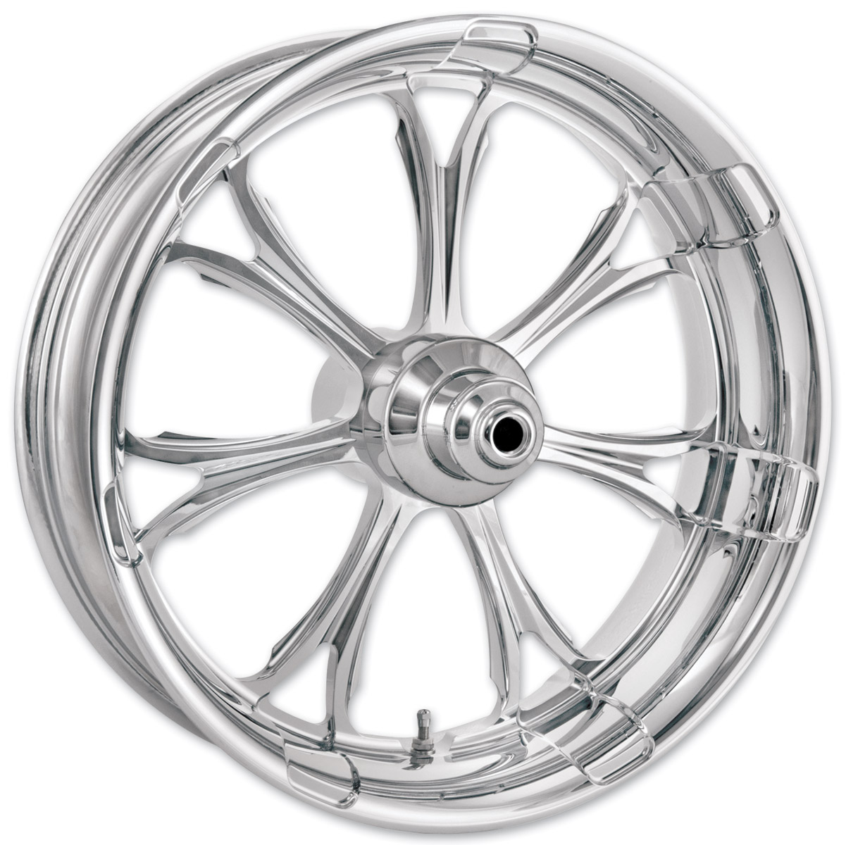 Performance Machine Paramount Chrome Non-ABS Front Wheel, 23″ x 3.5″