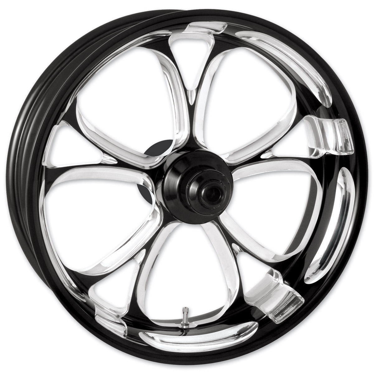 Performance Machine Luxe Contrast Cut Platinum ABS Front Wheel, 23″ x 3.5″ with ABS