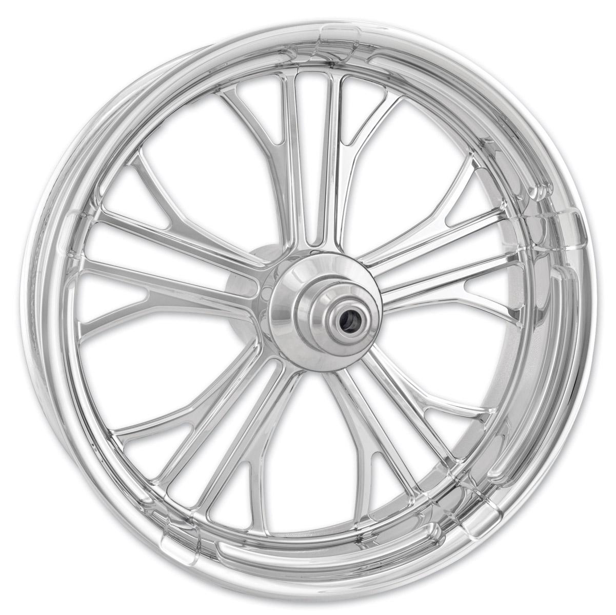 Performance Machine Dixon Chrome Front Wheel, 23″ x 3.5″