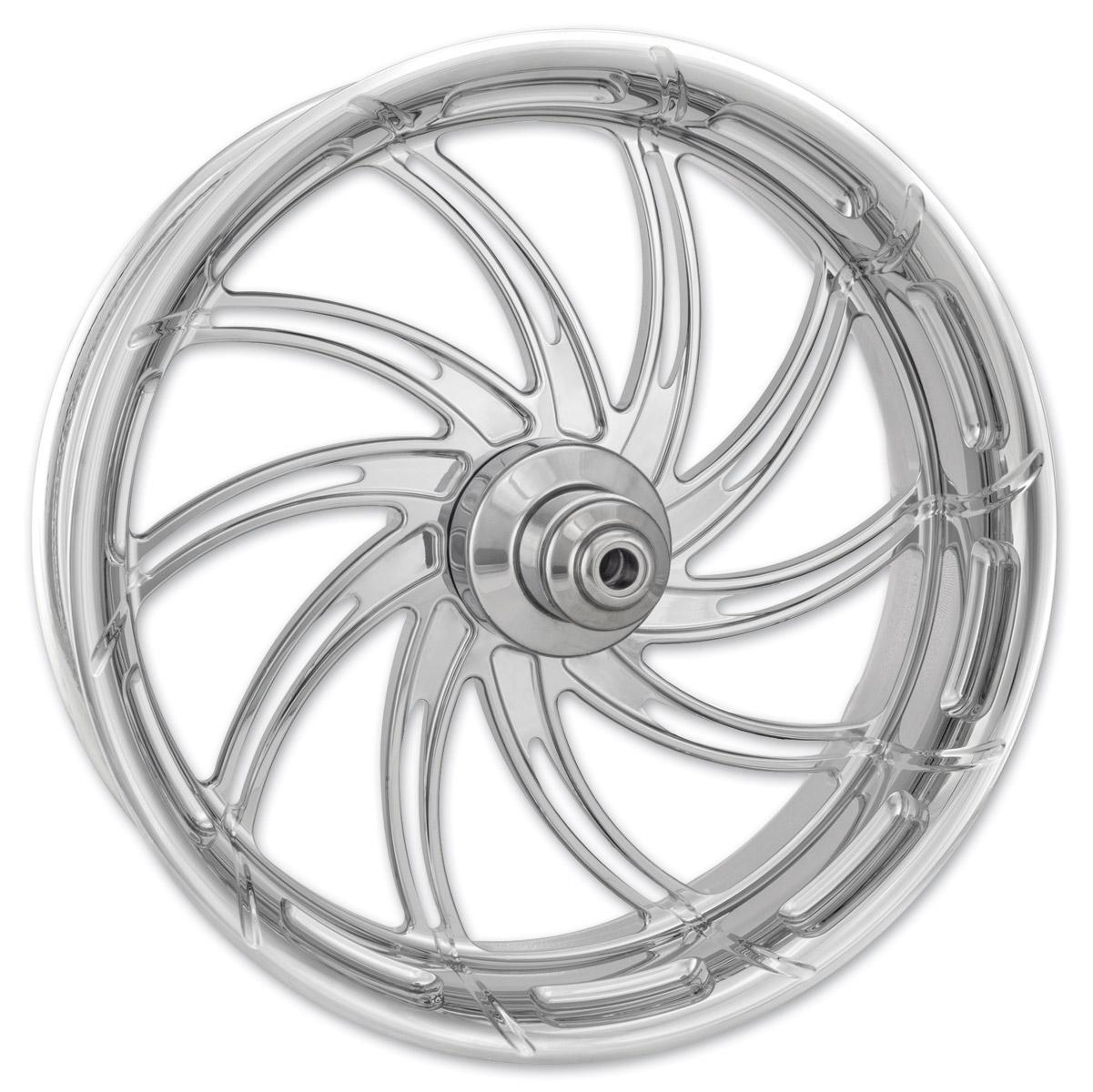 Performance Machine Supra Chrome Front Wheel, 23″ x 3.5″