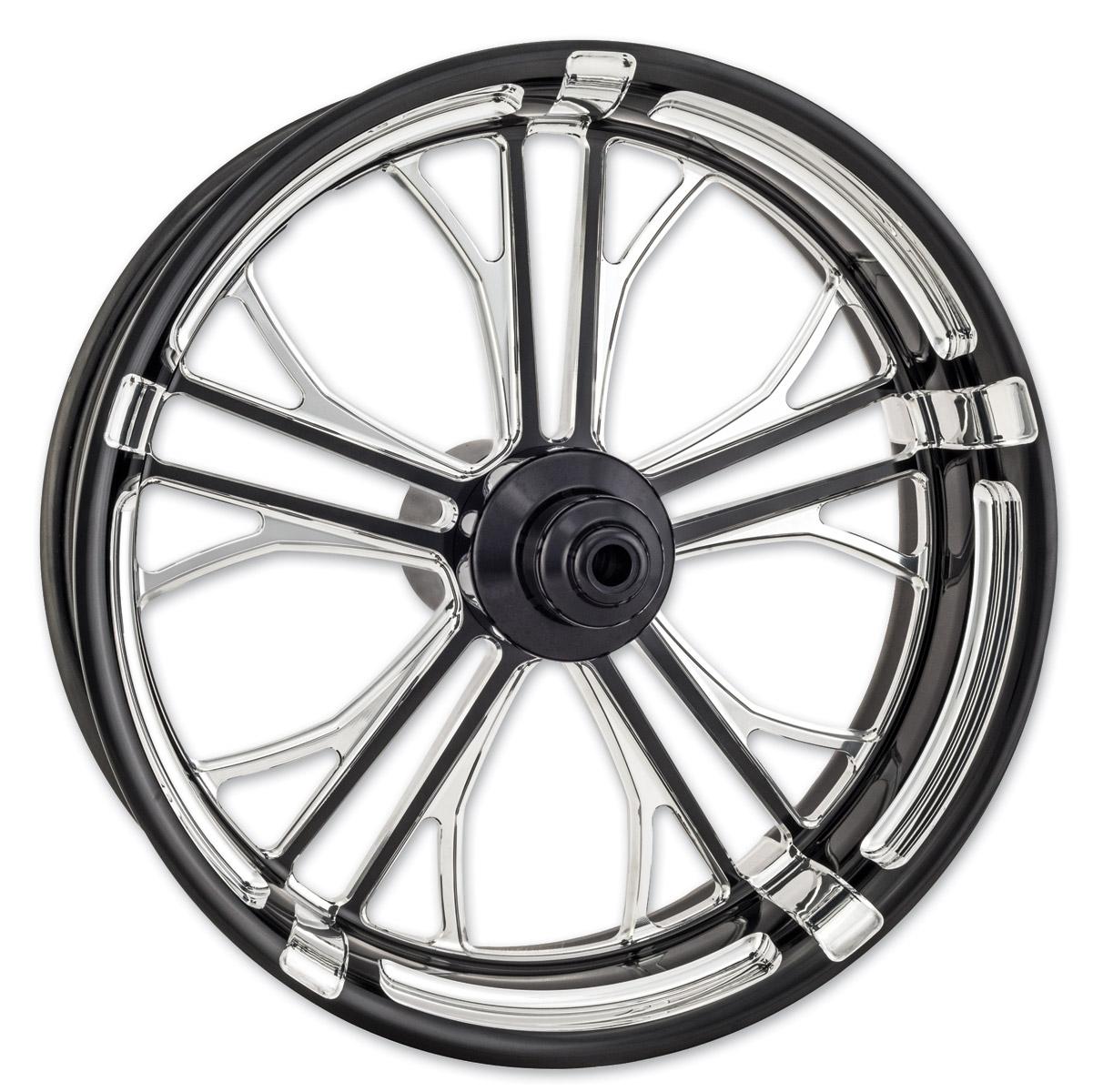 Performance Machine Contrast Cut Platinum Forged Dixon Rear Wheel, 18