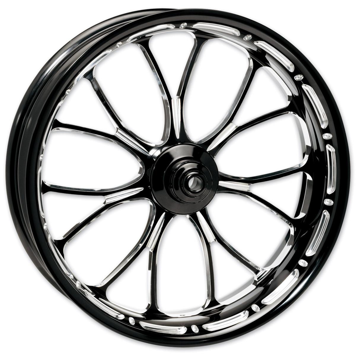 Performance Machine Contrast Cut Platinum Forged Heathen Rear Wheel, 16