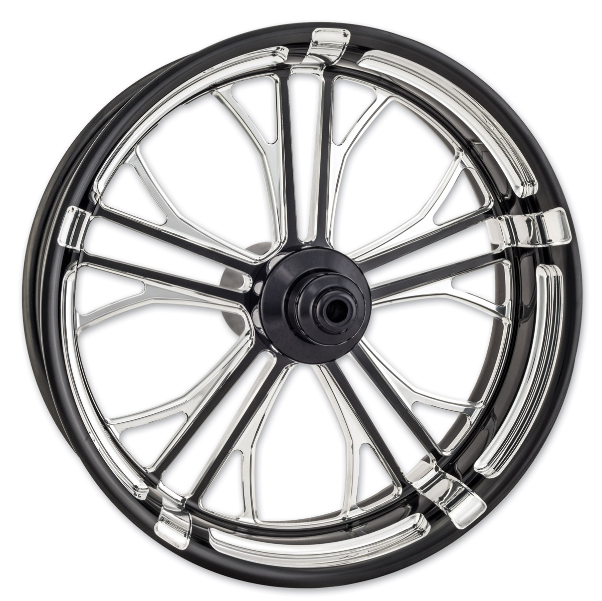 Performance Machine Contrast Cut Platinum Forged Dixon Rear Wheel, 18