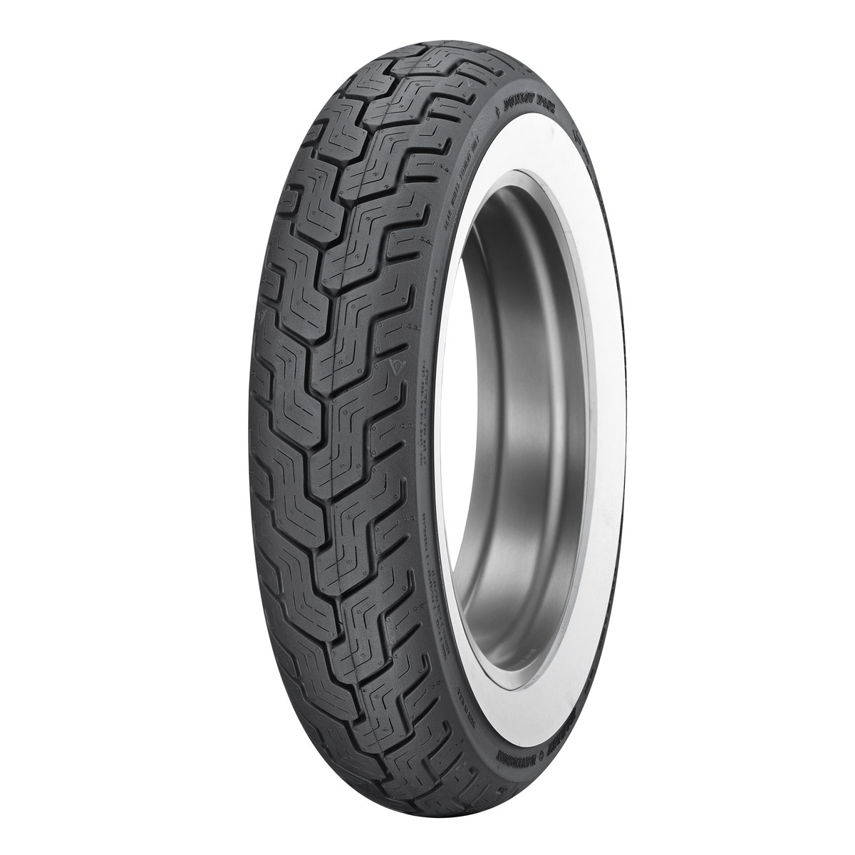 Dunlop D402 Touring MT90B16 Wide Whitewall Rear Tire