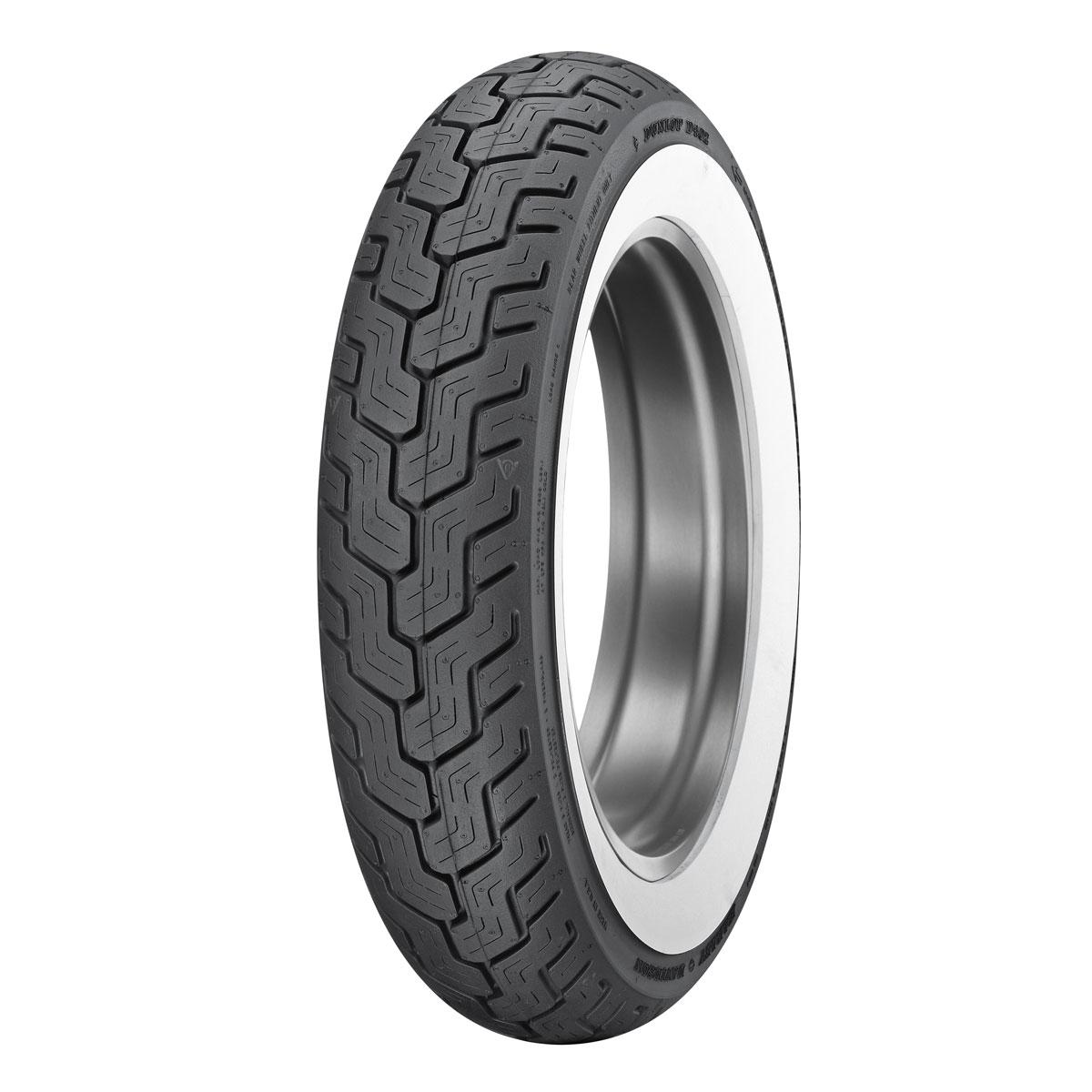 dunlop d402 mt90b16 wide whitewall rear tire