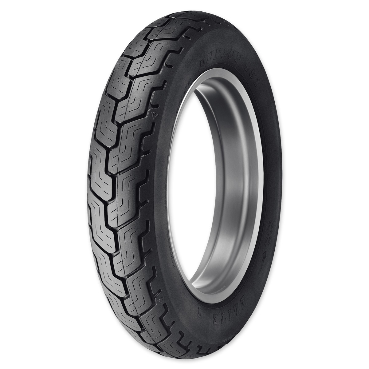 Dunlop 491 Elite II MT90B16 Rear Tire