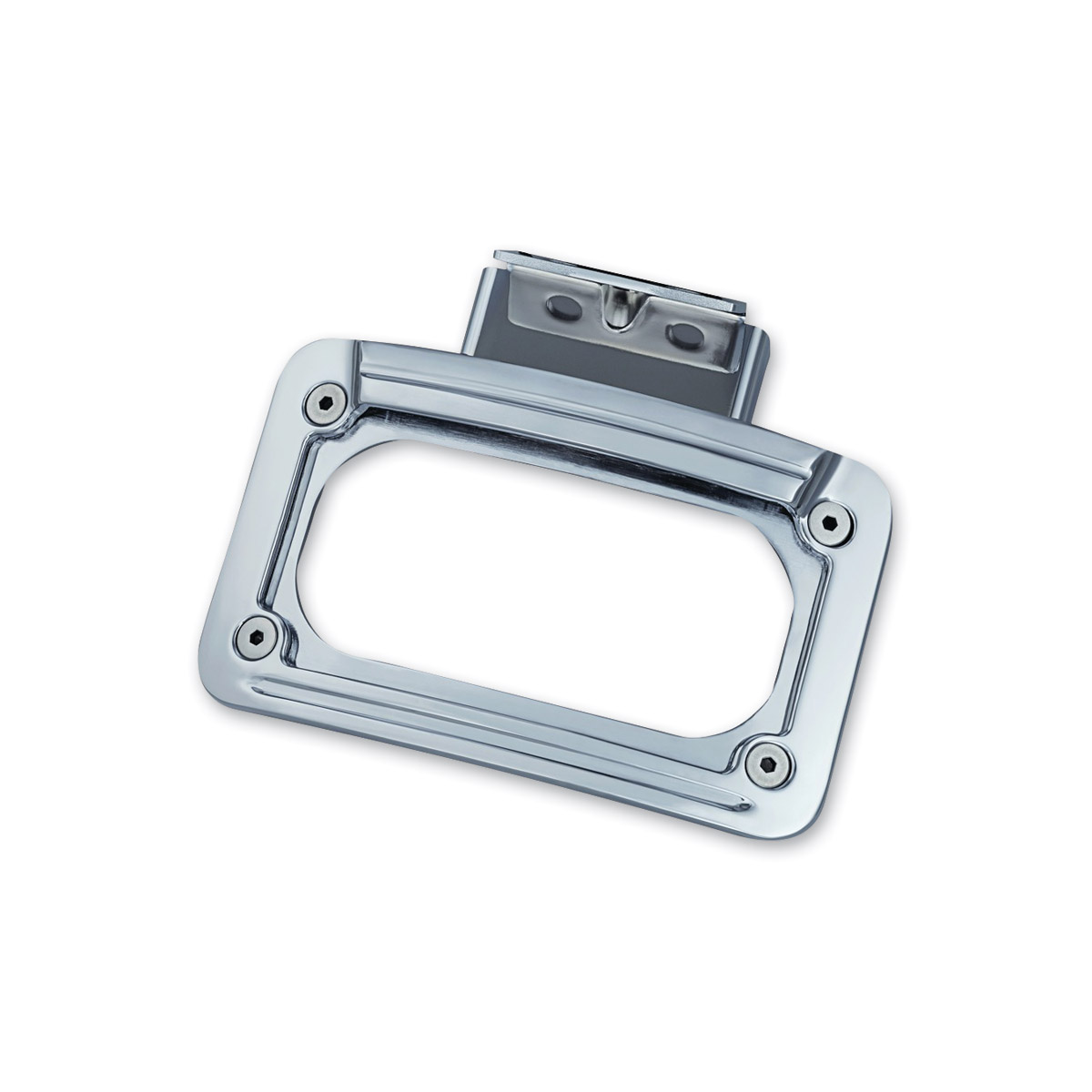 Kuryakyn LED Curved License Plate Frame with Mount