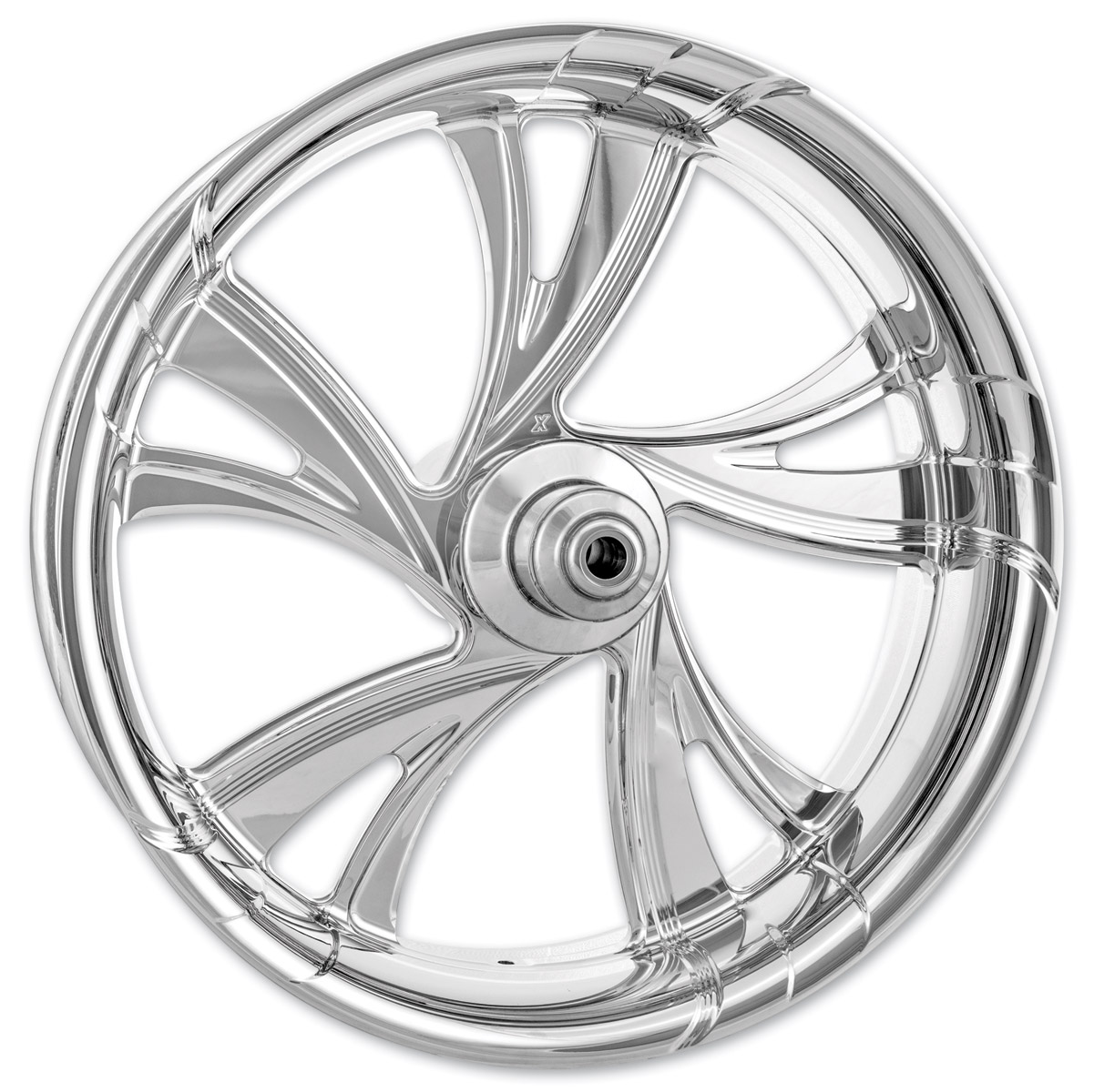 Xtreme Machine Chrome Forged Cruise Front Wheel, 18″ x 3.5″