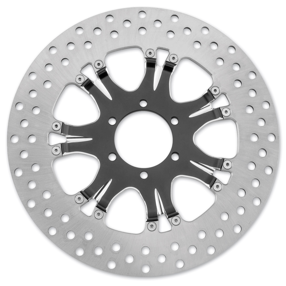 Performance Machine 11.8″ Heathen Contrast Cut Platinum Front/Rear Brake Rotor