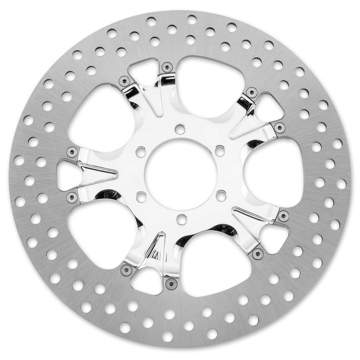 Performance Machine 11.8″ Gatlin Chrome Front/Rear Brake Rotor