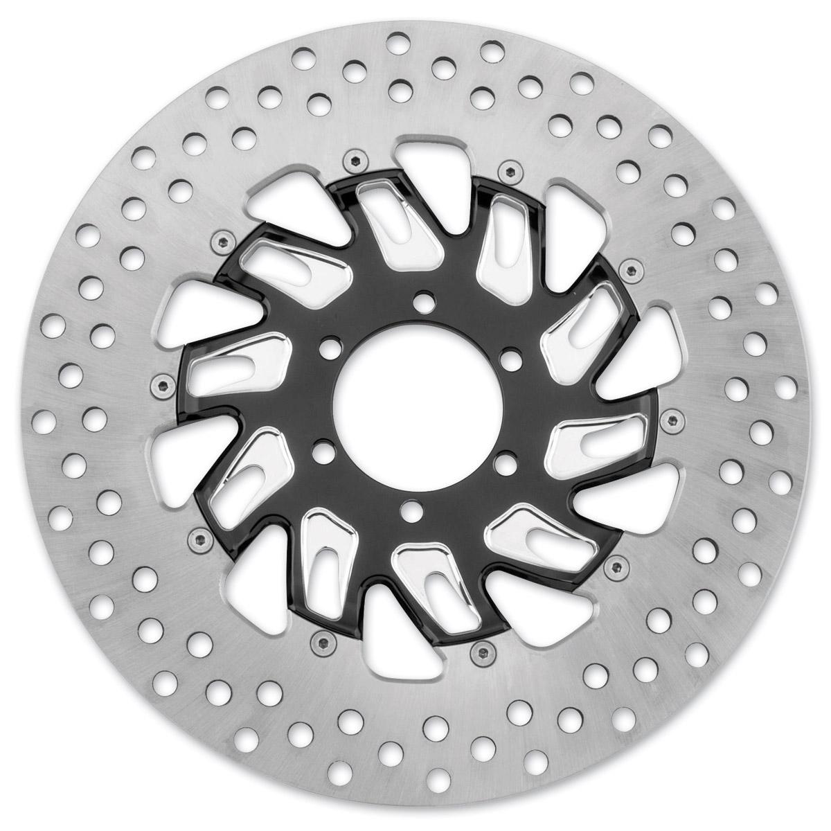 Performance Machine 11.8″ Supra Contrast Cut Platinum Front Right Brake Rotor