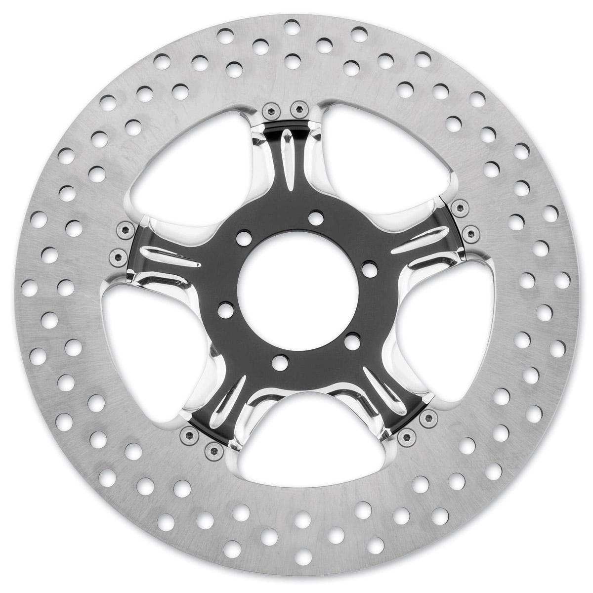 Performance Machine 11.8″ Wrath Contrast Cut Platinum Front/Rear Brake Rotor