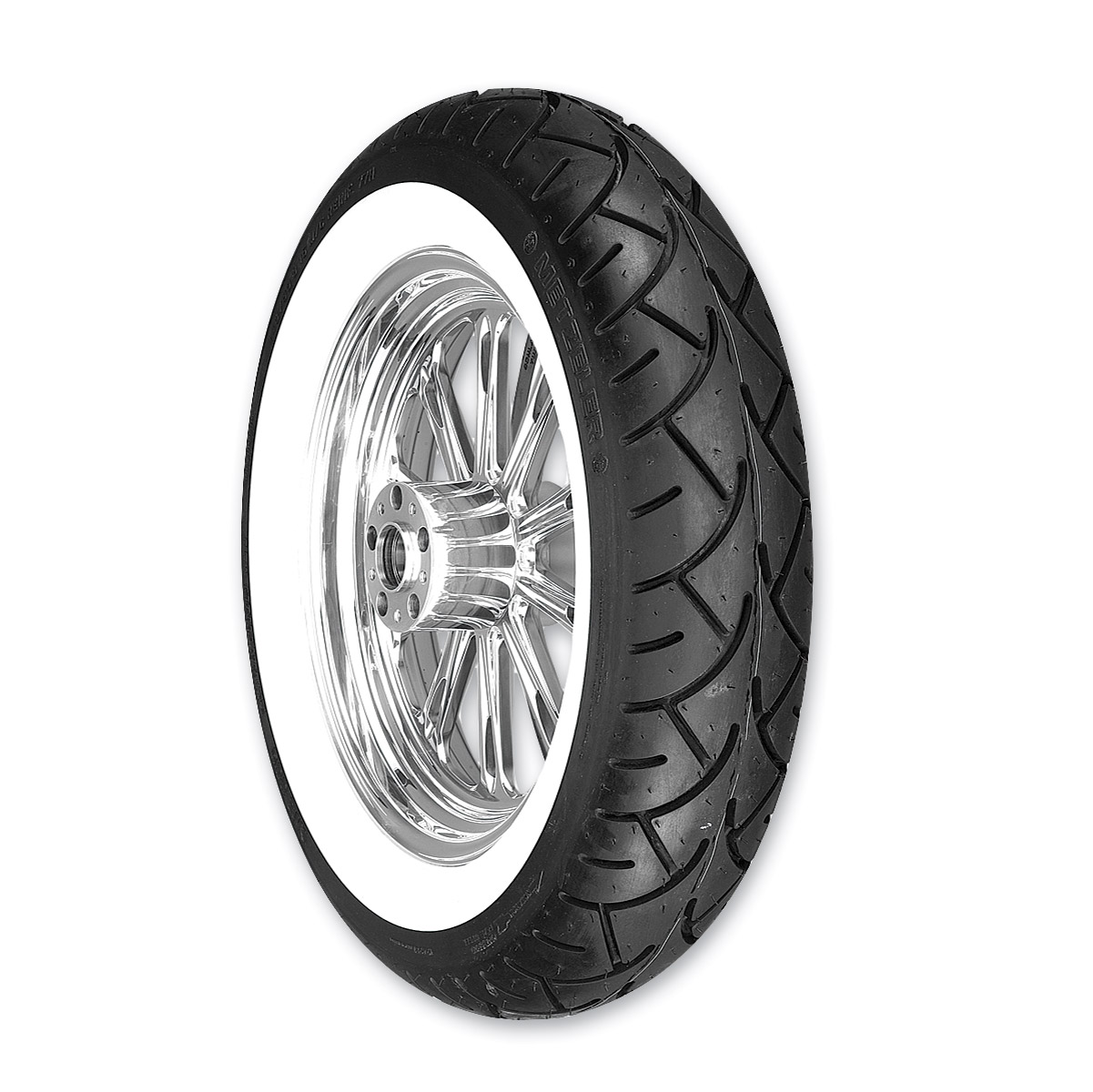 Metzeler ME880 Marathon 130/90B16 Wide Whitewall Front Tire