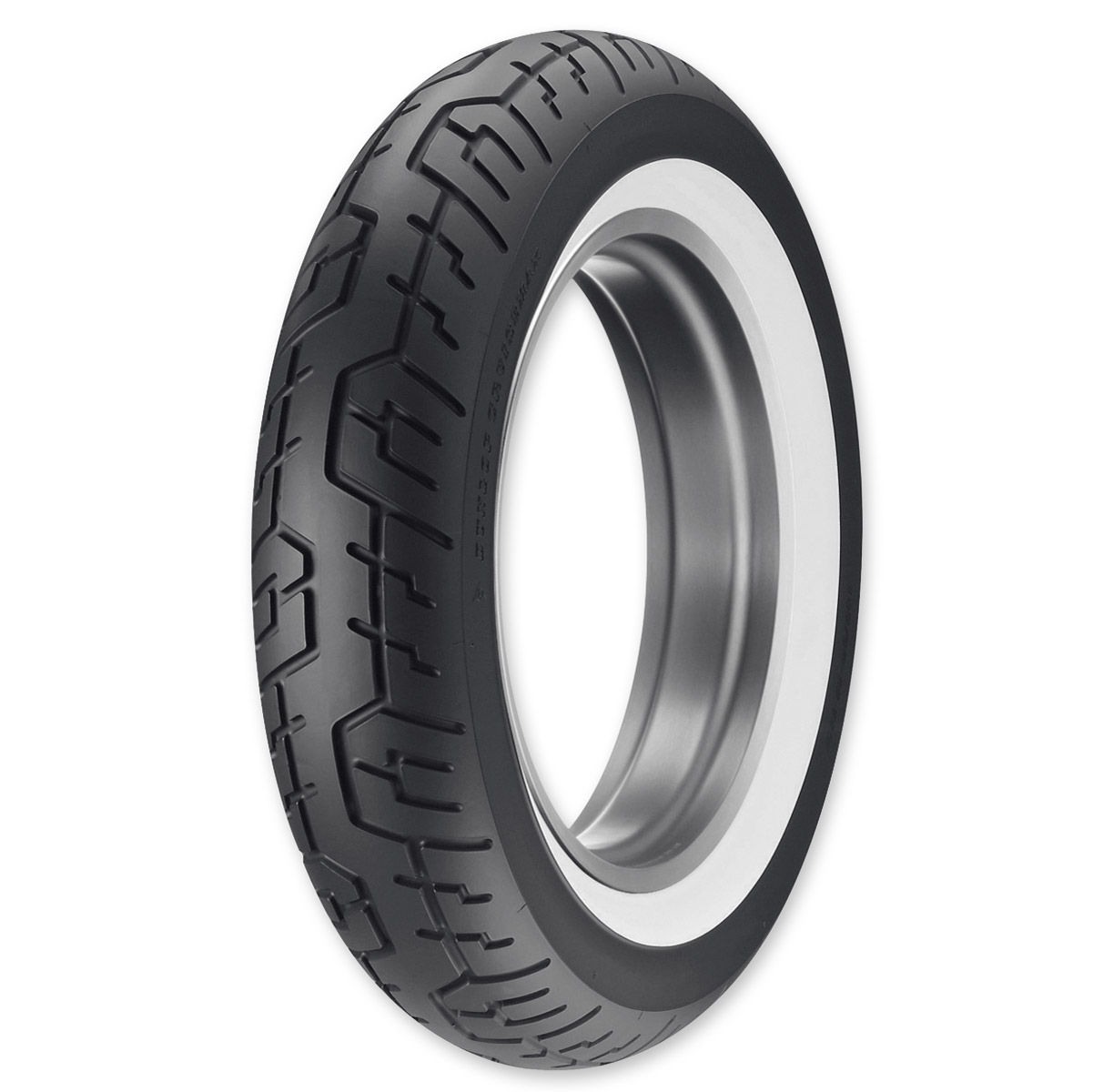 dunlop cruisemax wide whitewall rear tire