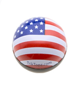 Trik Topz US Flag Valve Stem Caps