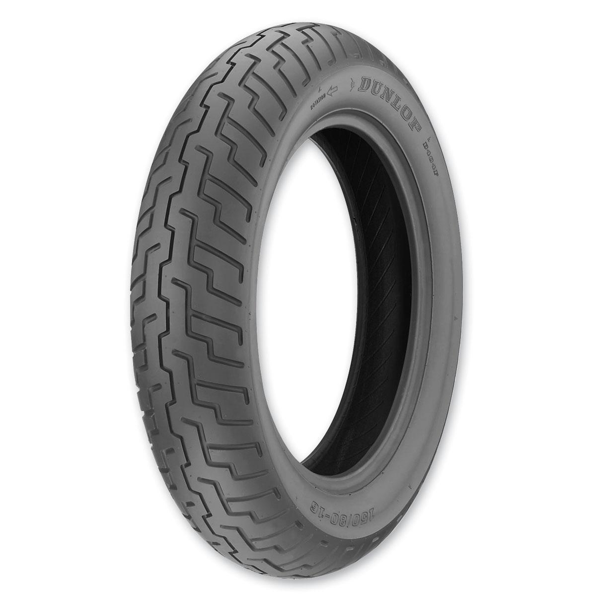 dunlop d404 130 90 16 front tire 217 280 j p cycles