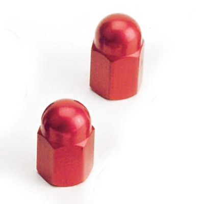 Barnett Performance Products Red Anodized Valve Stem Cap