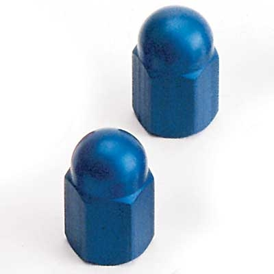 Barnett Performance Products Blue Anodized Valve Stem Cap